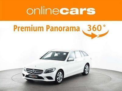 gebraucht Mercedes C200 C-Klassed T Avantgarde Aut. LED NAVI R-KAMERA SUP... Kombi / Family Van