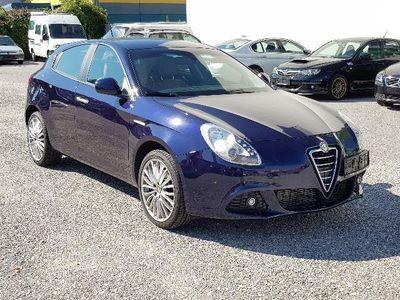 gebraucht Alfa Romeo Giulietta 2,0 JTD Multijet II Distinctive TCT Leder-Braun,