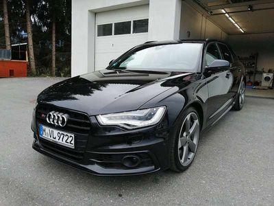 gebraucht Audi A6 S6 4G C7 4.0 Bi-Turbo Quattro, Black Edition Kombi / Family Van,