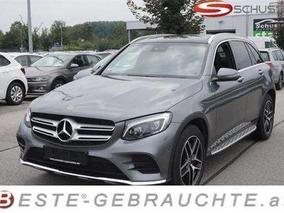 gebraucht Mercedes GLC250 4matic Haglsch. Panorama AHK AMG-Line Coma