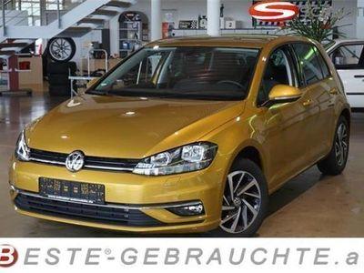 gebraucht VW Golf VII TSI 1.0 Sound ACC Fernlichtass. SHZ PDCv+