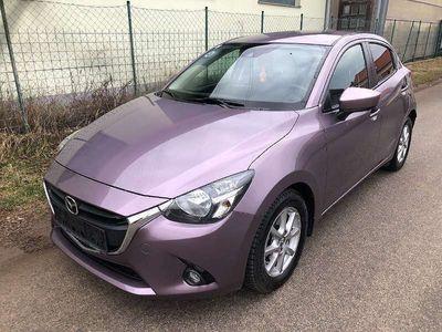 gebraucht Mazda 2 CD Revolution 1,5 90 PS TOP KLIMA NAVI Limousine