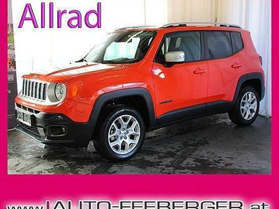 brugt Jeep Renegade 2,0 MultiJet II AWD 6MT 140 Limited Limited