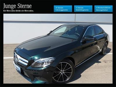 used Mercedes C200 d Avantgarde Comand LED Distr. Kamera Finanz.mögl.