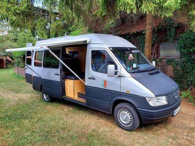 gebraucht Mercedes Sprinter Wohnmobil Camper