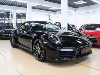 gebraucht Porsche 911 Carrera Cabriolet Turbo S Cabrio DSG Prominenter Vorbesitzer / Roadster