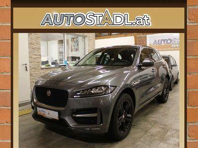 gebraucht Jaguar F-Pace 20d AWD R-Sport Aut./TOP!!/LED//Leder/20... SUV / Geländewagen