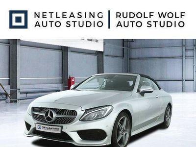 brugt Mercedes C200 Cabrio AMG+Cabrio-Komf+LED-ILS+Navi+Remote