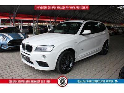 brugt BMW X3 xDrive20d Automatik M-Sportpaket Xenon 19zoll