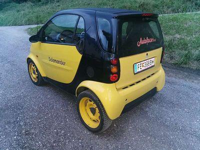 gebraucht Smart ForTwo Coupé 599cm Benzin Klein-/ Kompaktwagen