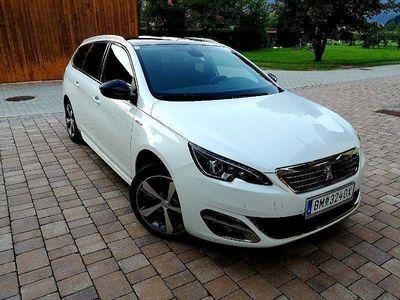 gebraucht Peugeot 308 SW 1,6 BHDI GT LINE S&S Kombi / Family Van,