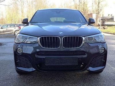 gebraucht BMW X4 xDrive 20d M Sportpaket HiFi Xenon RFK AHK SUV / Geländewagen