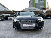 gebraucht Audi A4 2,0 TDI Sport S-tronic+3x S line+Navi+Xenon+Leder-