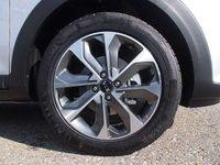 gebraucht Kia Stonic 1,4 MPI ISG Silber SUV / Geländewagen,