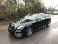 gebraucht Mercedes S400 d 4MATIC*LANG*STZ*PANORAMA*AMG*LEDER-BRAUN*BURM