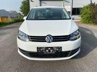 gebraucht VW Sharan Highline 2,0 TDI DSG 7 Sitze Teilleder NAVI ACC