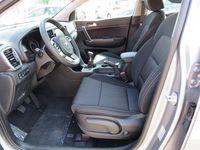 gebraucht Kia Sportage 1,6 CRDI SCR AWD Silber SUV / Geländewagen,