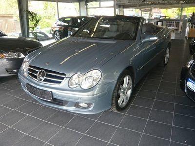 gebraucht Mercedes CLK280 Cabrio 7G-TRONIC Avantgarde Vollausstatt