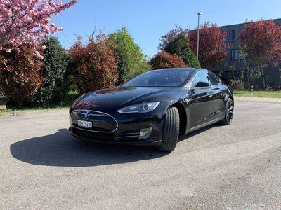 gebraucht Tesla Model S P90D, free Supercharging, possible full guarantee -11.2023, leasing/cash