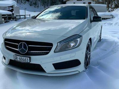 gebraucht Mercedes A250 A-Klasse A 250 AMG Line 4m A-KlasseAMG Line 4m