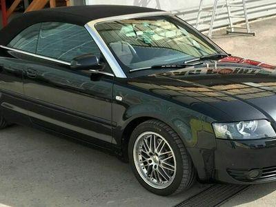 gebraucht Audi A4 Cabriolet A4 Cabrio schwarz - ** frisch ab Service und MFK ** schwarz - ** frisch ab Service und MFK **