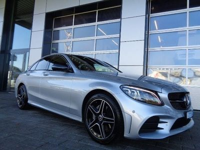 gebraucht Mercedes C220 C-Klassed AMG Line 4Matic Night Edition 9G-Tronic