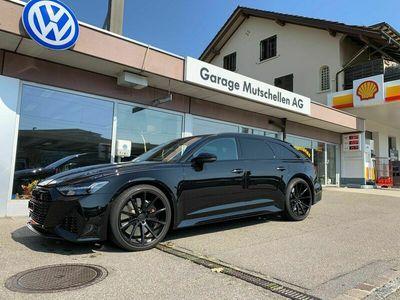 gebraucht Audi RS6 Avant 4.0 TFSI V8 quattro All-Black600PS CH-Auto Werksgarantie bis 2025 mit Vossen 22-Zoll