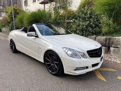 gebraucht Mercedes E250 E-KlasseCGI BlueEfficiency 7G-Tronic (Cabriolet)