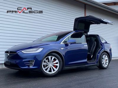 gebraucht Tesla Model X 90 D Performance Ludicrous + 772cv