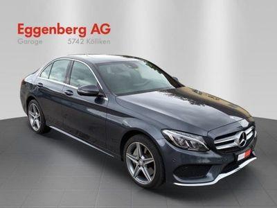 gebraucht Mercedes C400 AMG Line 4Matic