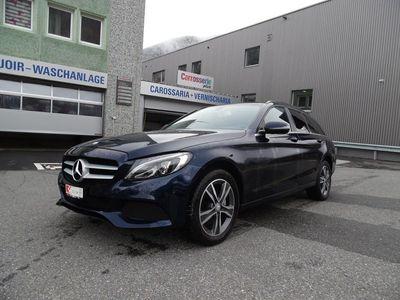 gebraucht Mercedes C220 C-Klassed 4Matic 9G-Tronic