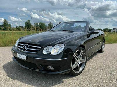 gebraucht Mercedes CLK55 AMG CLK WAHNSINNSAMG CABRIO 5.5 V8 367PS AUS 2. SAMMLERHAND!