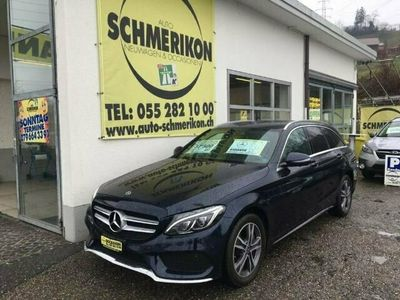 gebraucht Mercedes C250 Swiss AMG-Line 4Matic G-Tronic Automat