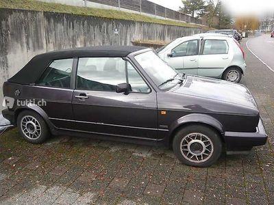 gebraucht VW Golf Cabriolet Sportline JG juni 1993