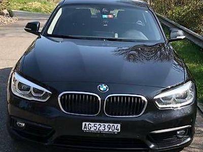 gebraucht BMW 120 1er d Xdrive schwarz 190 PS 2017