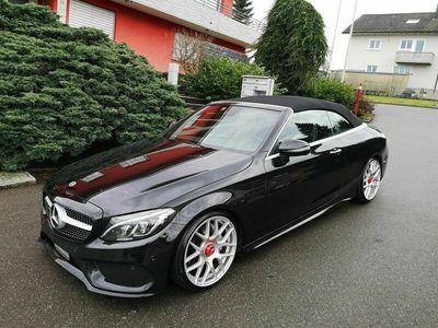 gebraucht Mercedes C220 C-Klassed Cabriolet AMG Line 9G-Tronic