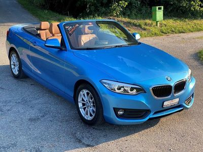 gebraucht BMW 220 2er i Luxury Line Steptronic