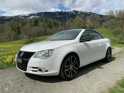 gebraucht VW Eos Eos Cabriolet2.0FSI T 210PS DSG WhiteNigth