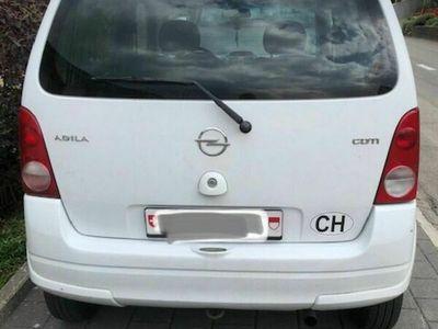 gebraucht Opel Agila 1,3 Diesel, FAST NEU S/W Pneu, ab Sev. und MFK