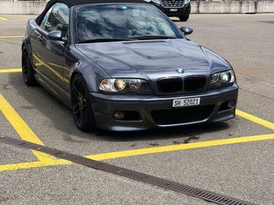 gebraucht BMW M3 Cabriolet 3er e46