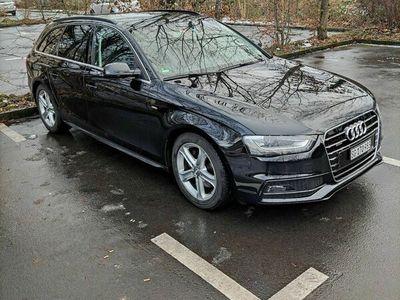 gebraucht Audi A4 S Line quattro mit Anhängerkupplung