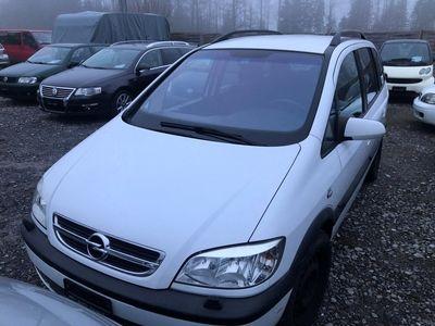 gebraucht Opel Zafira 1.8i 16V Linea Fresca