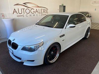 gebraucht BMW M5 * Unikat * Mineral White Pearl Werk * Work Felgen