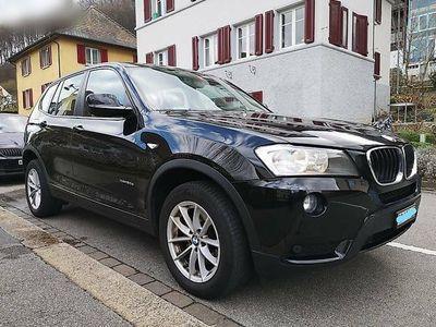 gebraucht BMW X3 xDrive20d, Lederausstattung