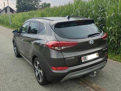 gebraucht Hyundai Tucson Vertex 4x4, Anhängerkupplung, 8x bereift