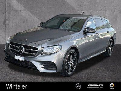 gebraucht Mercedes E220 E-KlasseSwiss Star AMG 4M