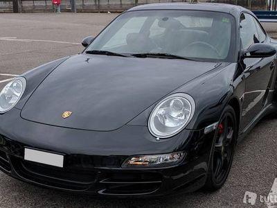 gebraucht Porsche 911 Carrera 4S (997) schwarz, Handschaltung, Top!