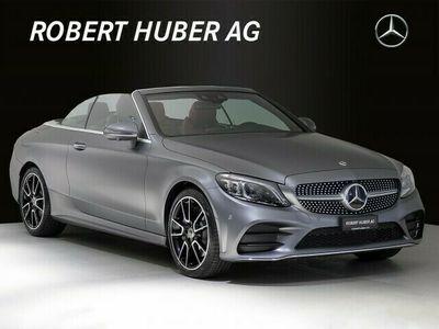 gebraucht Mercedes C400 C-KlasseAMG Line Cabriolet 4Matic 9G-Tronic