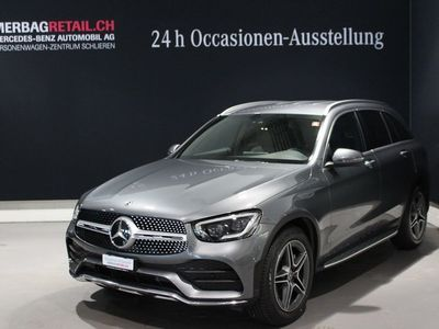 gebraucht Mercedes GLC220 d AMG Line 4Matic 9G-Tronic