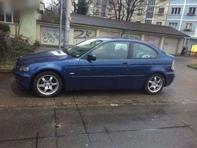 gebraucht BMW 318 3er Compact i Coupé 2.0 Bezin